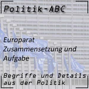 Europarat und seine Funktionen