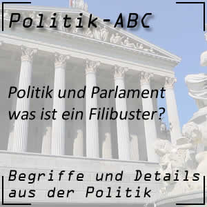 Filibuster im Parlament