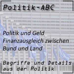 Finanzausgleich in der Politik