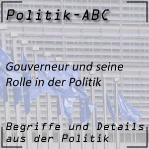 Gouverneur in der Politik