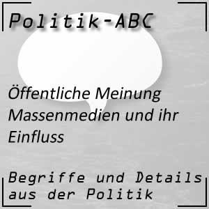 Massenmedien in der Politik