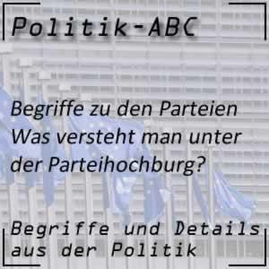 Parteihochburg in der Politik