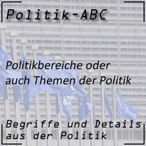 Politikbereiche oder Themen der Politik