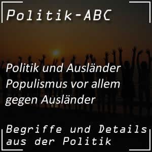 Populismus und Rechtspopulismus