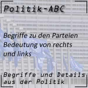 Rechts-Links-System in der Politik