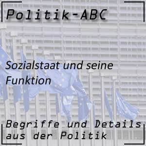 Sozialstaat und seine Funktionen