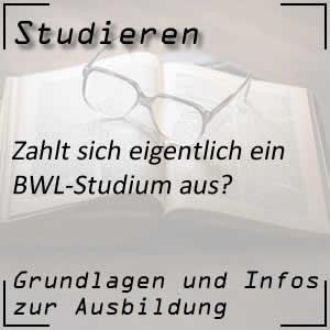 Studium von BWL oder Betriebswirtschaftslehre