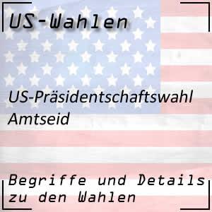 Amtseid des US-Präsidenten