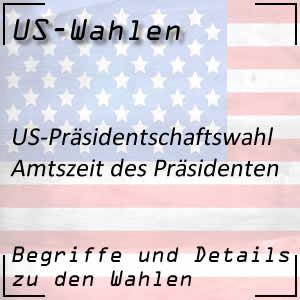 Amtszeit des US-Präsidenten