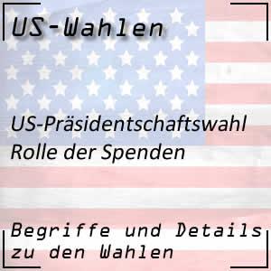 Spenden im US-Wahlkampf