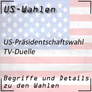 TV-Duelle beim US-Wahlkampf