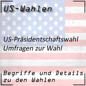 Umfragen bei den US-Wahlen