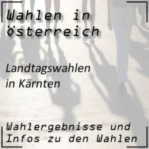 Landtagswahlen in Kärnten