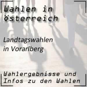 Landtagswahlen Vorarlberg