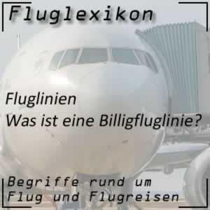 Fluglexikon Fluglinien Billigfluglinie