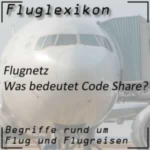 Code Share / Gemeinschaftsflug