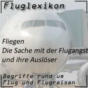Fluglexikon Flugreise Flugangst
