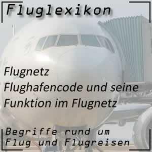 Fluglexikon Flugnetz Flughafencode