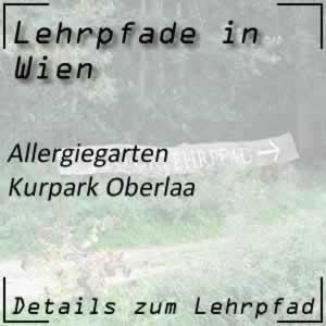 Allergiegarten Kurpark Oberlaa Wien