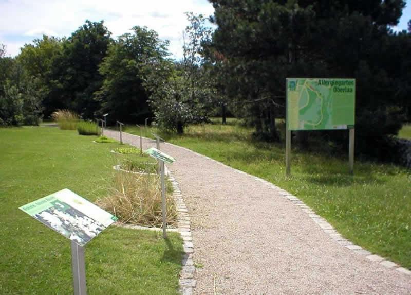 Lehrpfad Allergiegarten in Wien-Oberlaa