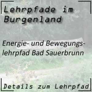 Lehrpfad Bad Sauerbrunn Energielehrpfad