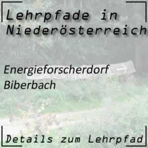 Lehrpfad Biberbach Energieforscherdorf