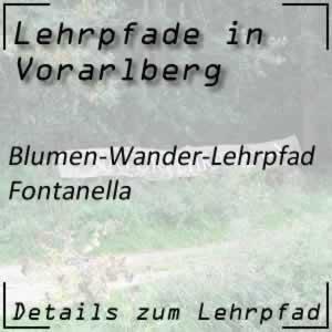 Lehrpfad Fontanella Blumen-Wander-Lehrpfad