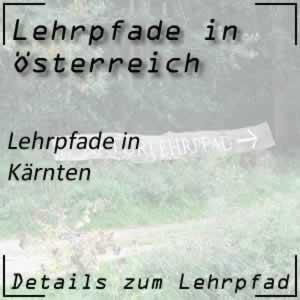 Lehrpfade in Kärnten