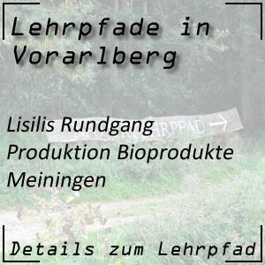 Lehrpfad in Meiningen über Bioprodukte