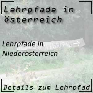 Lehrpfade in Niederösterreich