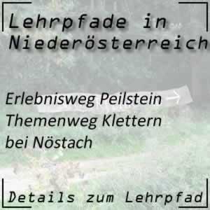 Erlebnisweg Peilstein / Themenweg Klettern