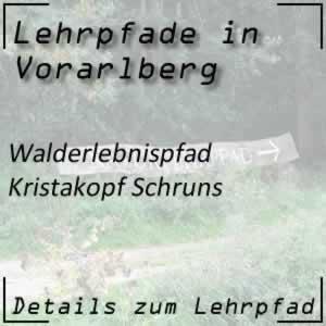 Lehrpfad Schruns Naturerlebnispfad Kristakopf