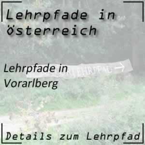 Lehrpfad Vorarlberg