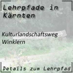 Lehrpfad Winklern Kulturlandschaftsweg