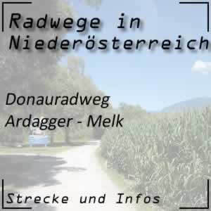 Donauradweg: Ardagger - Melk