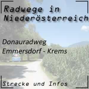 Donauradweg Emmersdorf - Krems