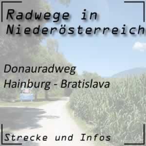 Donauradweg: Hainburg - Bratislava