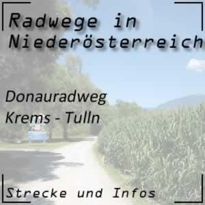 Donauradweg Krems - Tulln