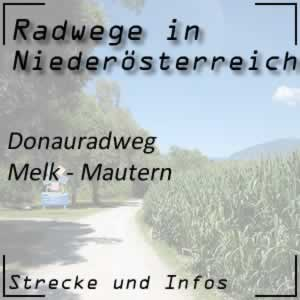 Donauradweg Melk - Mautern