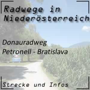 Donauradweg: Petronell - Bratislava