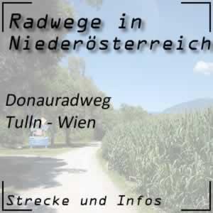 Donauradweg: Tulln - Wien