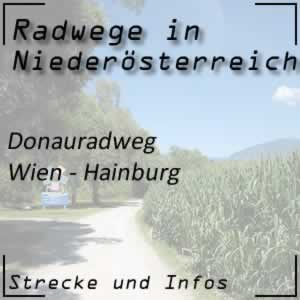 Donauradweg Wien - Hainburg