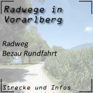 Radweg Bezau Rundfahrt