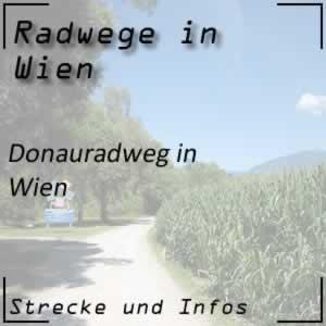 Donauradweg in Wien