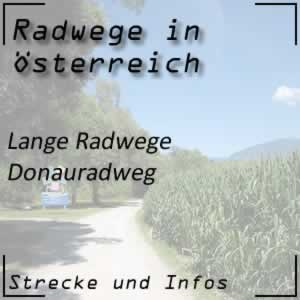 Donauradweg in Österreich