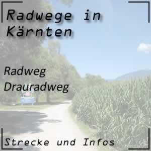 Drauradweg von Südtirol über Kärnten bis Slowenien