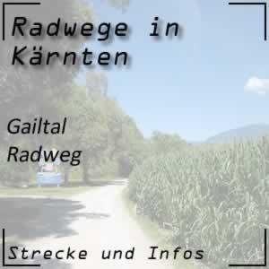 Gailtal Radweg R3 in Kärnten