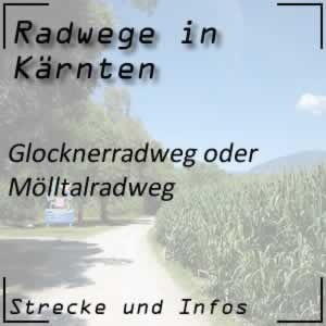 Glocknerradweg oder Mölltalradweg