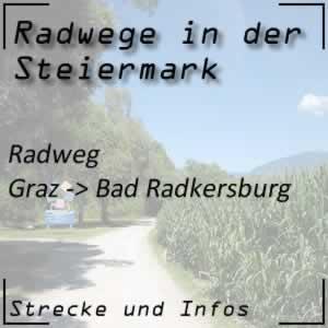 Murradweg von Graz bis Bad Radkersburg