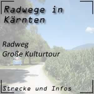 Radweg große Kulturtour